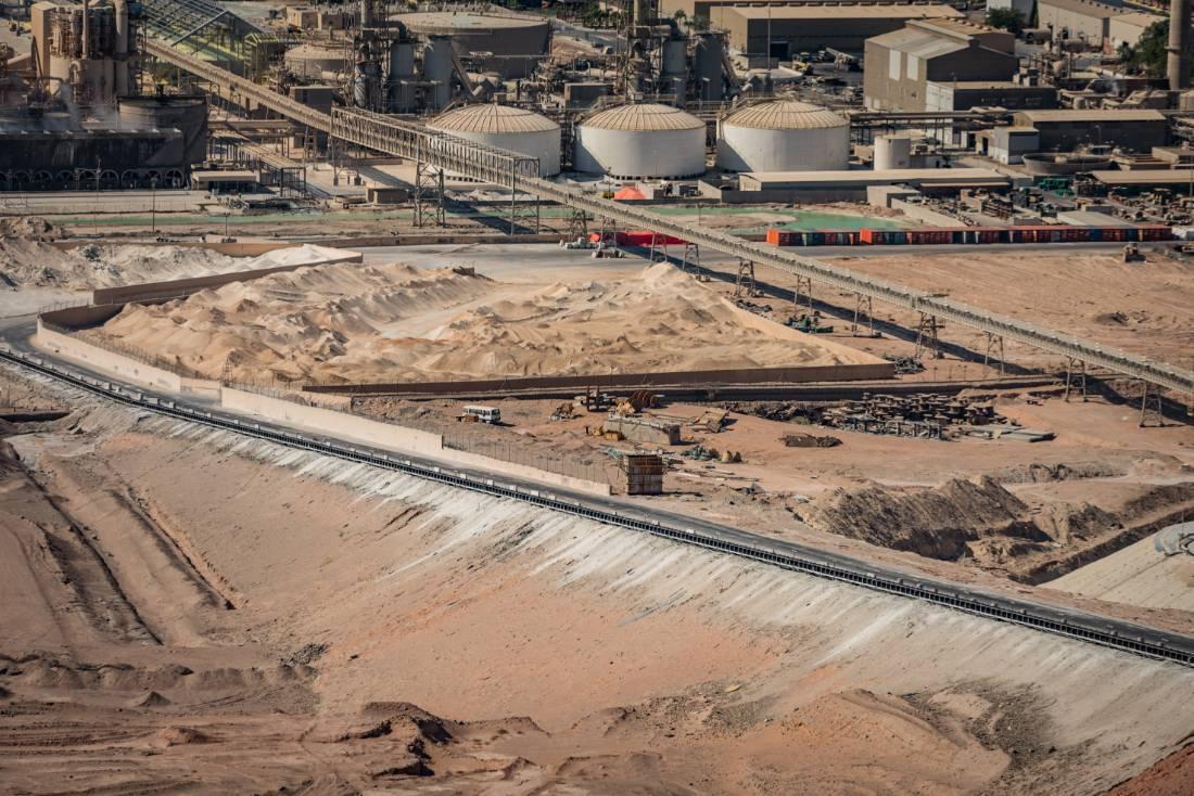 Conveyor belts in Jordan